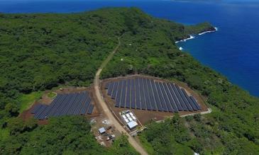 Hòn đảo loại bỏ máy phát điện nhờ năng lượng Mặt Trời